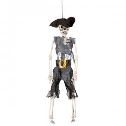 Figura decorativa de pirata en los huesos - Imagen 2