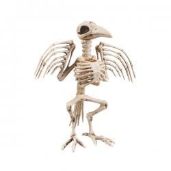 Figura decorativa de esqueleto de cuervo - Imagen 2