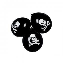 Set de 6 globos piratas - Imagen 2