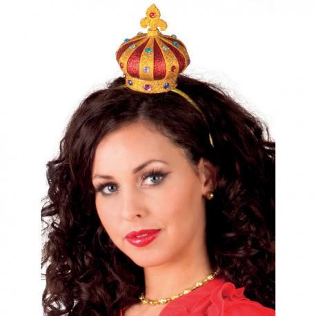 Corona de reina de corazones para mujer - Imagen 2