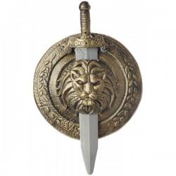 Escudo y espada combate Gladiador - Imagen 1