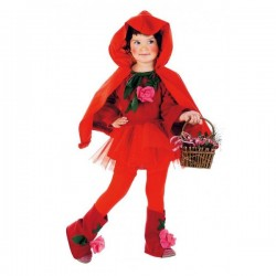 Disfraz de caperucita roja bebé - Imagen 1