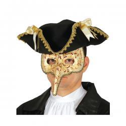 Antifaz de peste barroca para hombre - Imagen 1