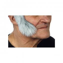 Patillas canosas para hombre - Imagen 2