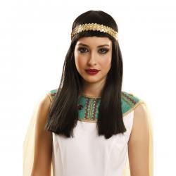 Peluca de reina egipcia para mujer - Imagen 2