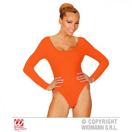 Body naranja para mujer - Imagen 1