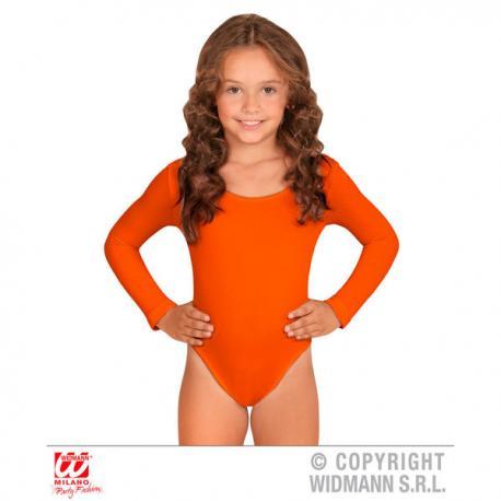Body naranja para niña - Imagen 1