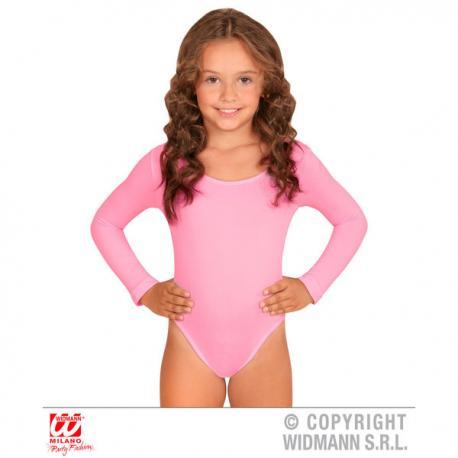 Body rosa palo para niña - Imagen 1