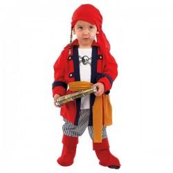 Disfraz de pirata bucanero bebé - Imagen 1