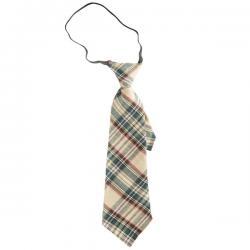 Corbata de cuadros para adulto - Imagen 2
