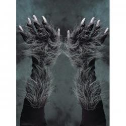 Garras de hombre lobo para adulto - Imagen 2