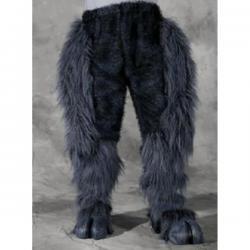 Pantalón con patas de bestia para adulto - Imagen 1