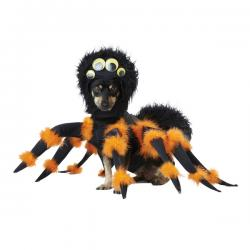 Disfraz de araña aterradora para perro - Imagen 1