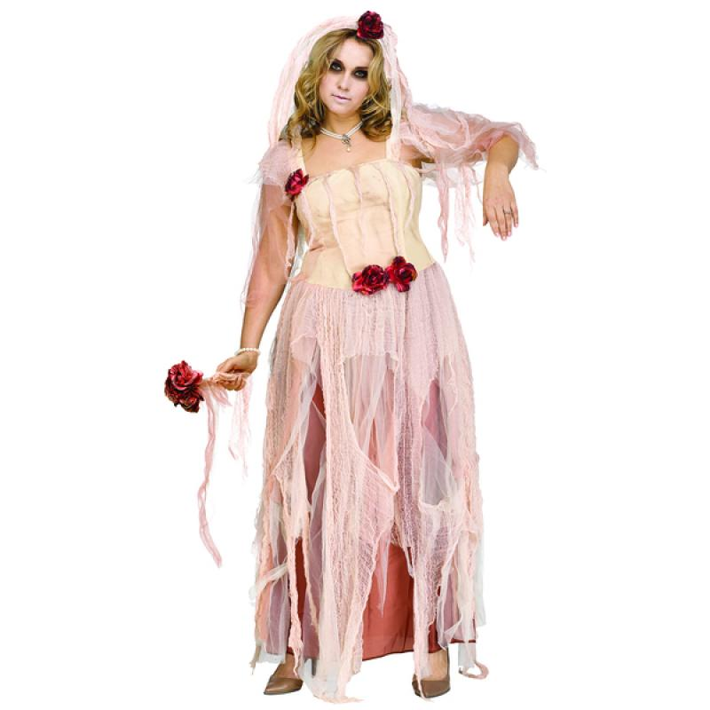 Disfraz De Novia Fantasmal Para Mujer Talla Grande