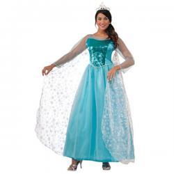 Disfraz de princesa Elsa reino de hielo para mujer - Imagen 1
