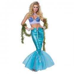 Disfraz de sirena de los siete mares para mujer - Imagen 1