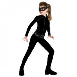 Disfraz de Catwoman classic para niña - Imagen 1