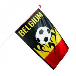 Bandera futbolera de Bélgica - Imagen 1