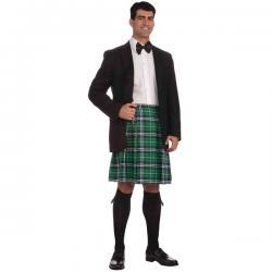 Falda escocesa para hombre talla grande - Imagen 1