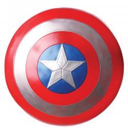 Escudo de Capitán América Soldado de invierno retro para hombre - Imagen 1