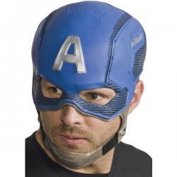 Máscara completa de Capitán América Civil War para hombre - Imagen 1