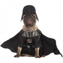 Disfraz de Darth Vader para perro - Imagen 1