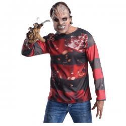 Kit disfraz Freddy Krueger para hombre - Imagen 1