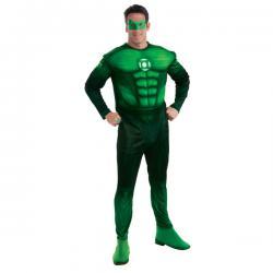 Disfraz de Hal Jordan Linterna Verde deluxe para hombre - Imagen 1