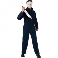 Disfraz de Michael Myers deluxe para hombre - Imagen 1