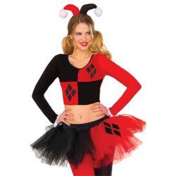 Top de Harley Quinn para mujer - Imagen 1