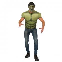 Kit disfraz de Hulk musculoso para hombre - Imagen 1