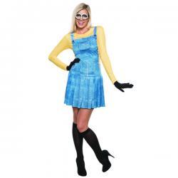 Disfraz de Minion deluxe para mujer - Imagen 1