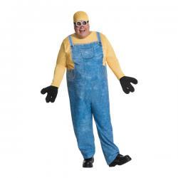 Disfraz de Minion Bob para hombre talla grande - Imagen 1