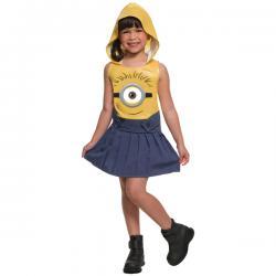 Disfraz de Minion divertido para niña - Imagen 1