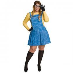 Disfraz de Minion para mujer talla grande - Imagen 1