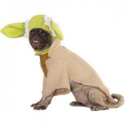Disfraz de Yoda deluxe para perro - Imagen 1