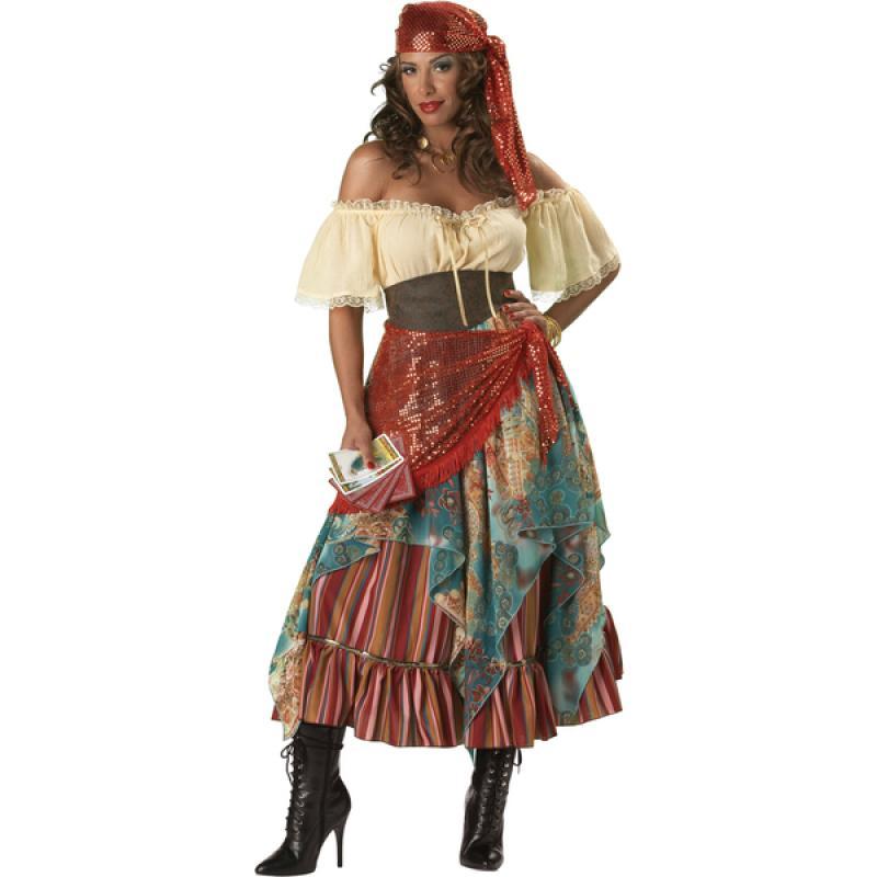 disfraz zingara mujer