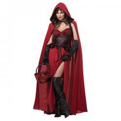 Disfraz de Caperucita oscura para mujer - Imagen 1