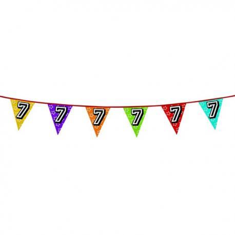Banderines con número 7 - Imagen 1