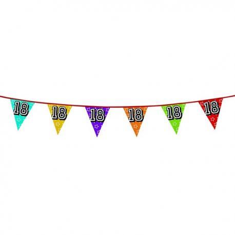 Banderines con número 18 - Imagen 1