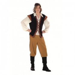 Disfraz de campesino medieval - Imagen 1