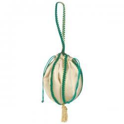 Bolso de mano verde del renacimiento - Imagen 1
