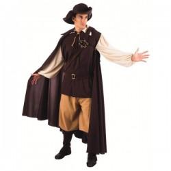 Disfraz de aventurero medieval - Imagen 1