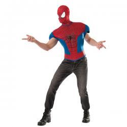 Kit disfraz The Amazing Spiderman 2 musculoso para hombre - Imagen 1