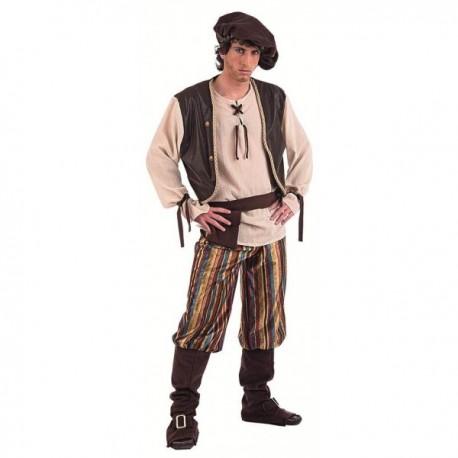 Disfraz de tabernero medieval - Imagen 1