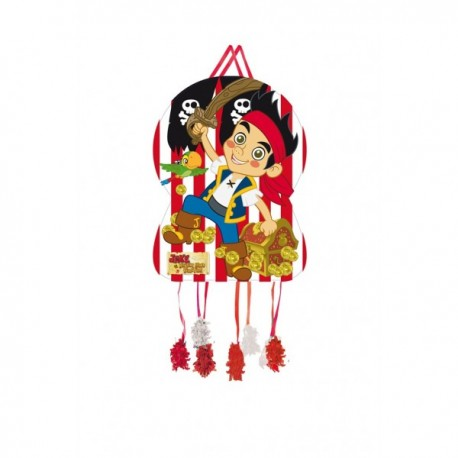 Piñata silueta Jake y sus Grumetes - Imagen 1