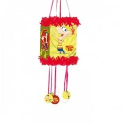 Piñata viñeta Phineas y Ferb - Imagen 1