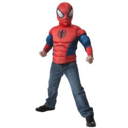 Kit disfraz Spiderman musculoso para niño - Imagen 1