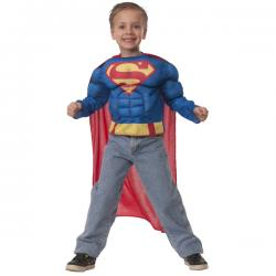 Kit disfraz de Superman musculoso en caja para niño - Imagen 1
