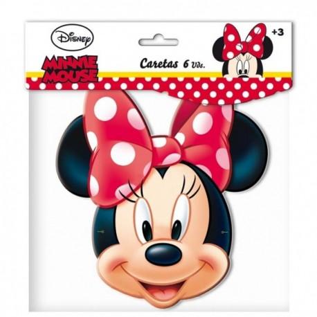Set de caretas Minnie Mouse - Imagen 1